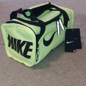 Nike***Lunch Box/Mini Duffle Bag Neon Green